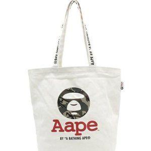 AAPE A Bathing Ape Bape Canvas Tote Bag